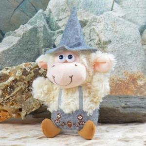 Laber Schaf mit Tracht