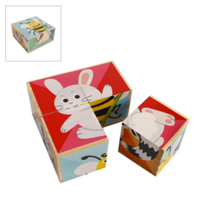 Holzspielzeug Lieferant Block-Puzzle