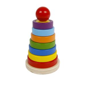 Holzspielzeug Pyramide Lieferant