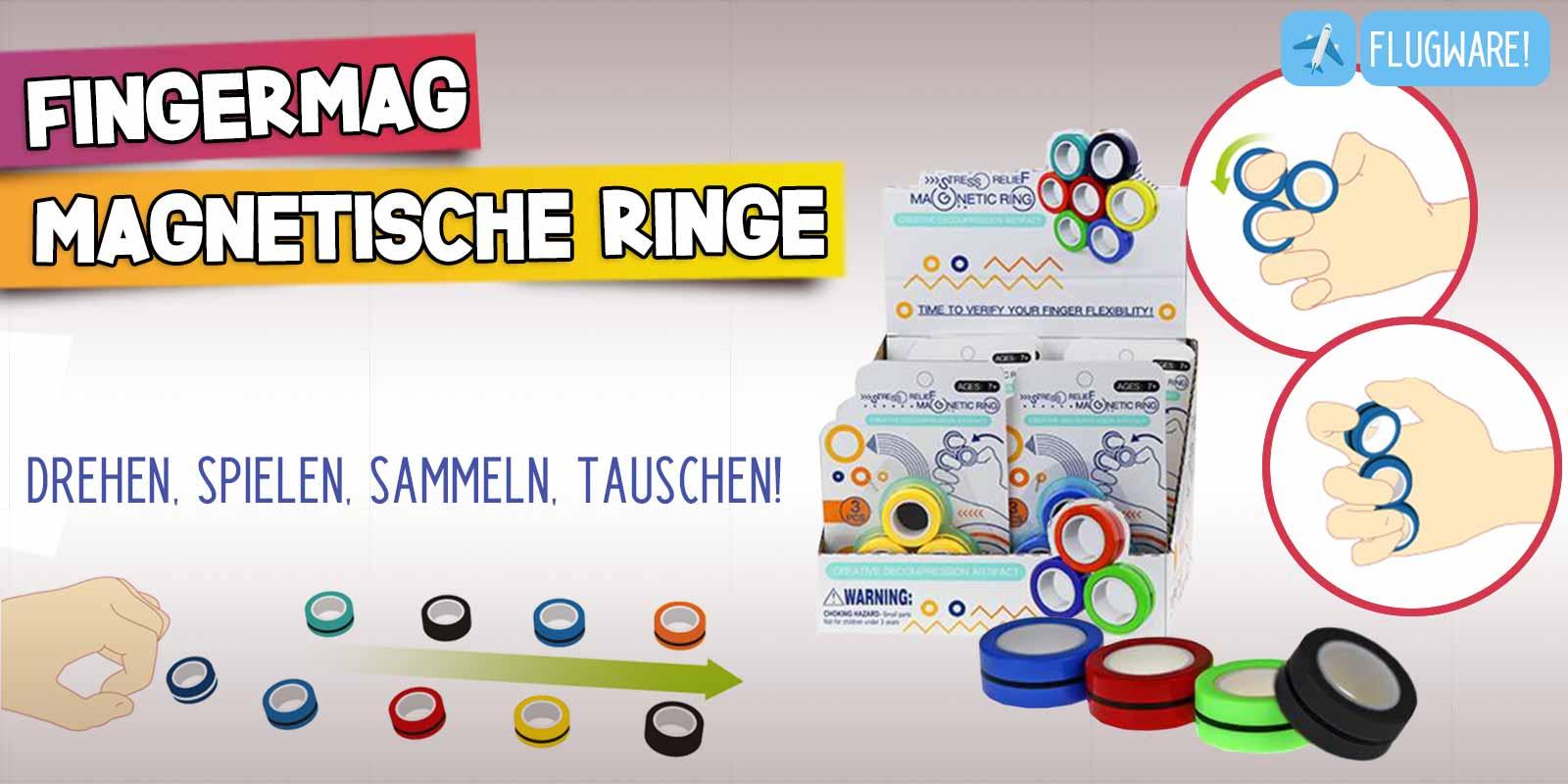 FingerMag Magnetische Fingerringe