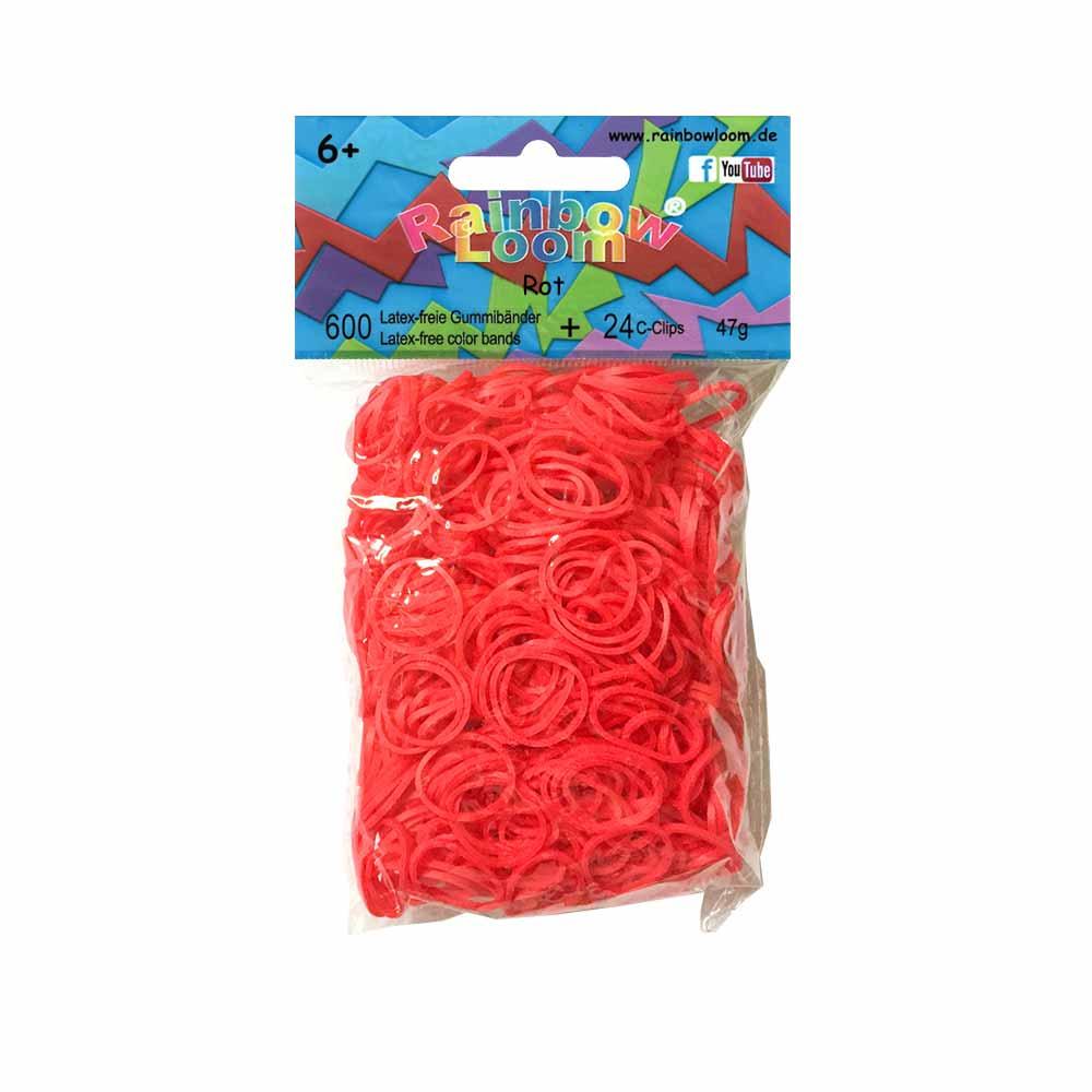 Rainbow Loom Bänder Rot