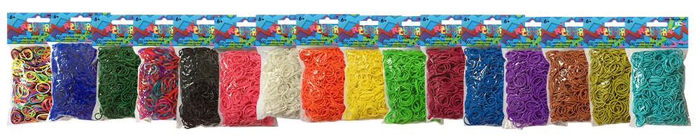 Rainbow Loom Gummibänder - Spielzeug Trends 2021